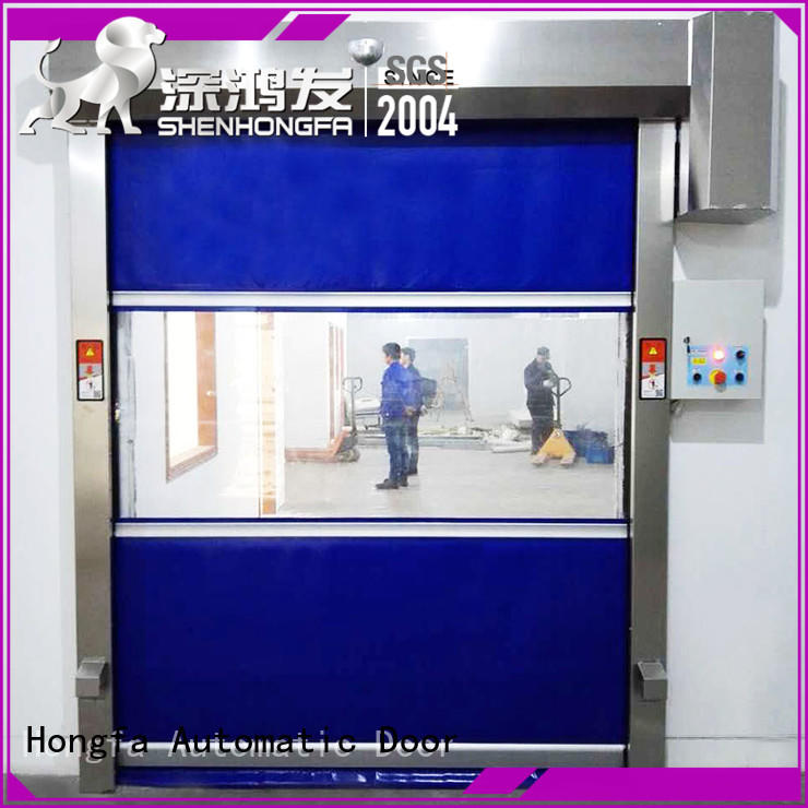 pvc high speed door remote factory price for factory