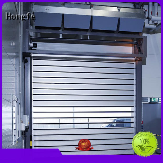 Hongfa automatic security door factory for factory
