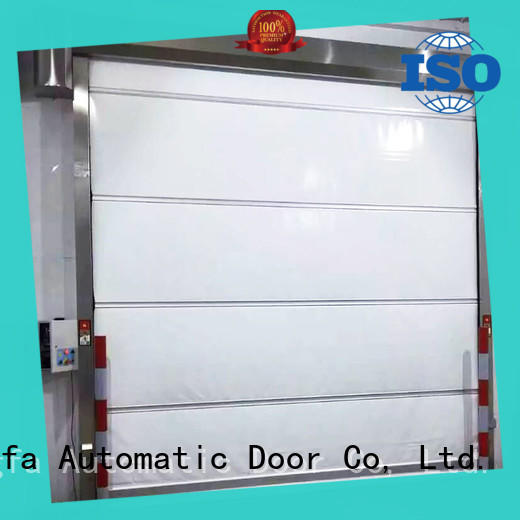 Hongfa efficient industrial garage doors rapid for storage