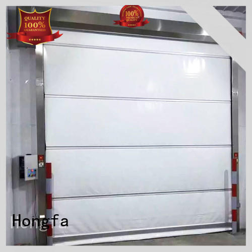 Hongfa efficient fabric roll up doors marketing for storage