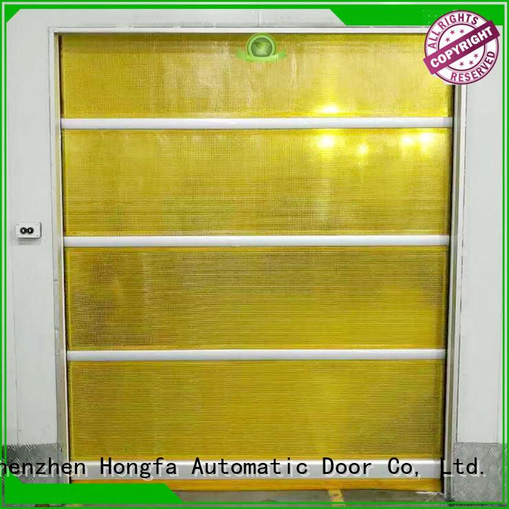 professional roll up doors interior remote widely-use for supermarket