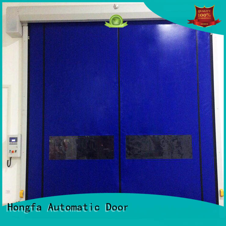 auto-recovery door door for supermarket Hongfa
