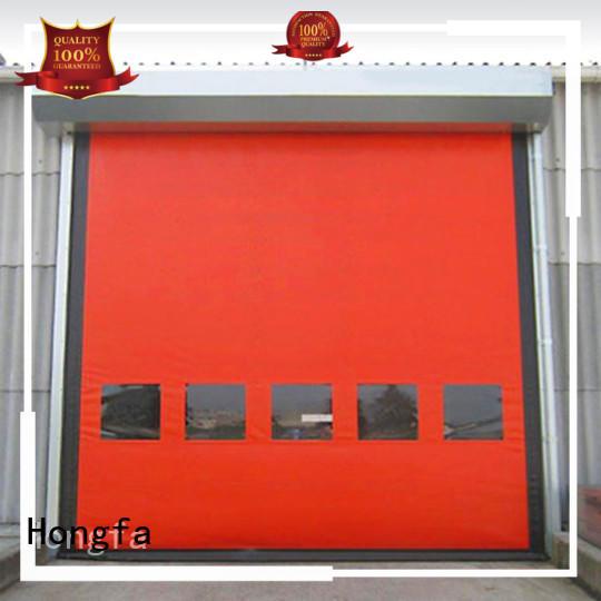 Auto-recovery high speed door