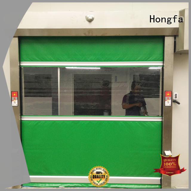 professional high speed shutter door plastic newly for food chemistry textile electronics supemarket refrigeration logistics