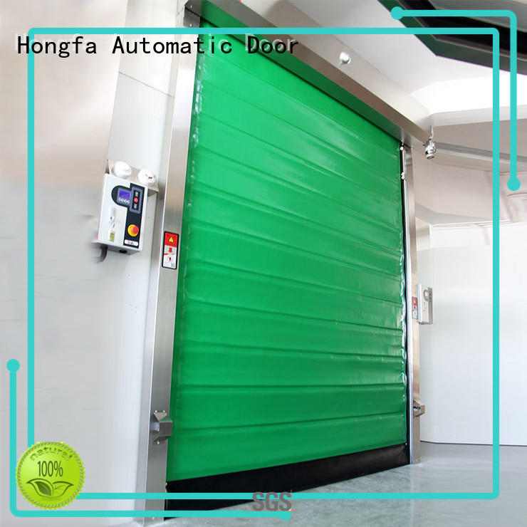 Hongfa cold storage doors effectively for warehousing