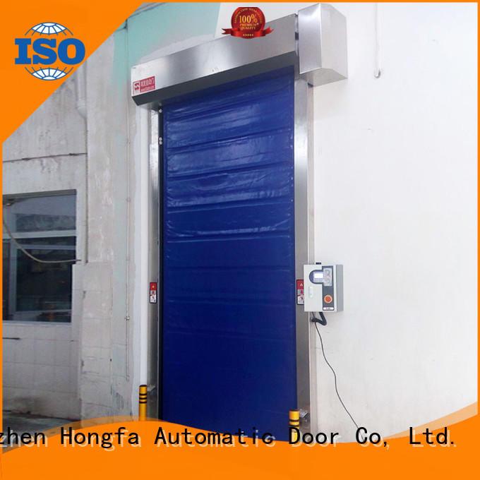 Cold storage application fast shutter door