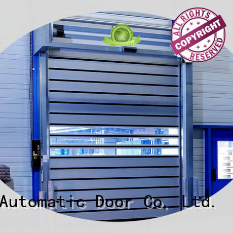 Hongfa fashion design spiral door door for parking lot