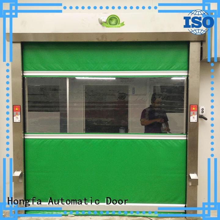 Hongfa pvc pvc high speed door factory price for warehousing