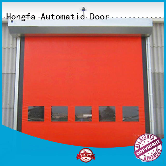Hongfa good-looking auto-recovery door China for cold storage room