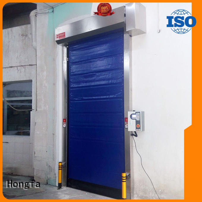 automatic cold storage doors application popular for cold storage room