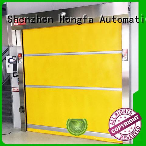 roll fabric industrial roller doors industrial plastic Hongfa Brand