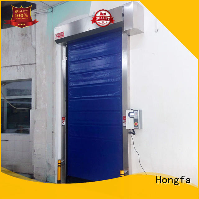 cold storage doors manufacturer pu overseas market for warehousing