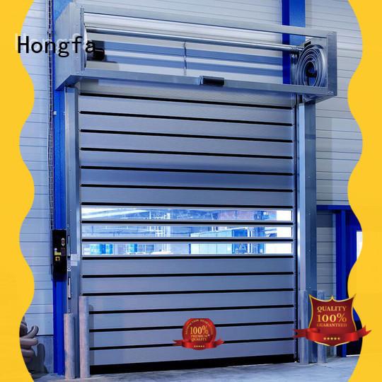 speed security door for wholesale for industrial warehouse Hongfa