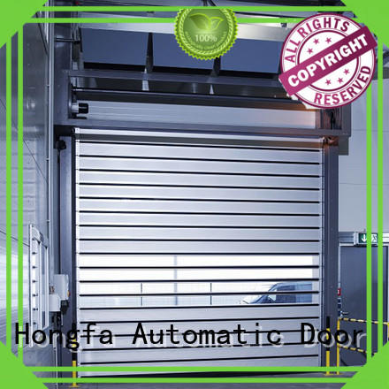 Hongfa fast security door from china for industrial warehouse