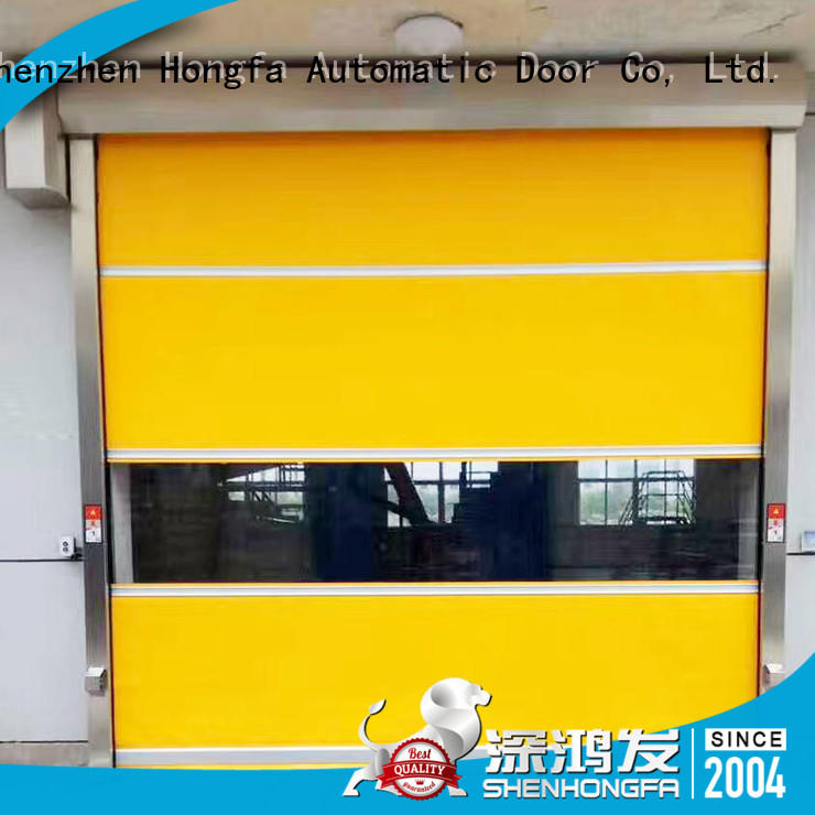 Hongfa shutter PVC fast door newly for supermarket