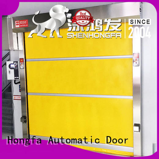 Hongfa room roll up doors interior newly for factory