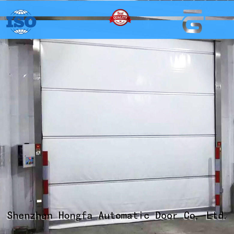 Hongfa oem rapid roll up door widely-use for storage