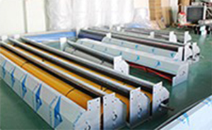 Hongfa automatic fabric roll up doors in different color for warehousing-16