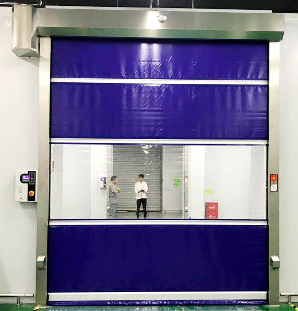 Hongfa fast small roll up doors company for supermarket-3