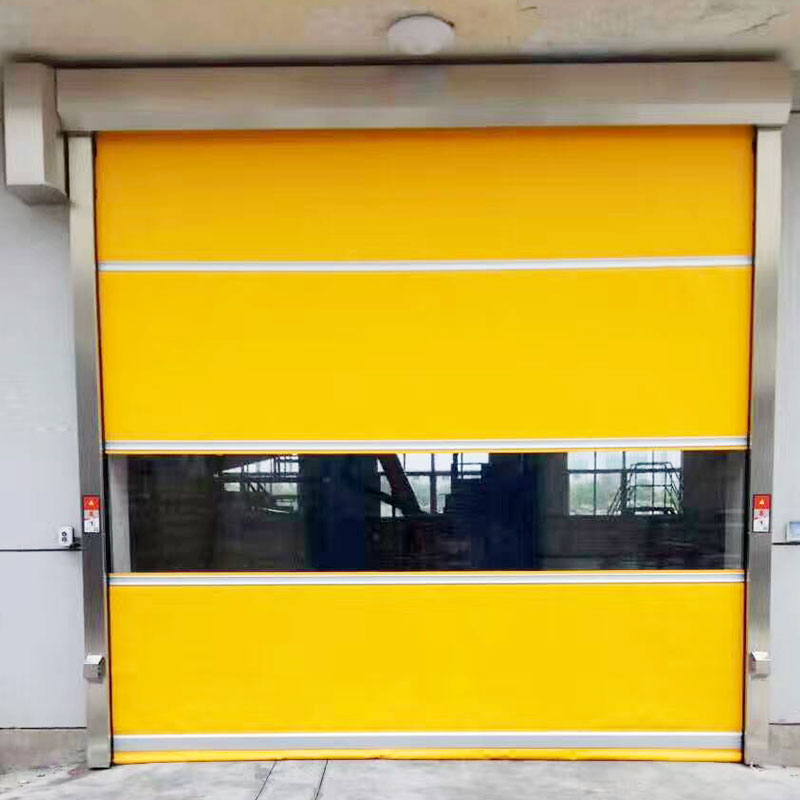 Hongfa curtain PVC fast door supplier for factory-1