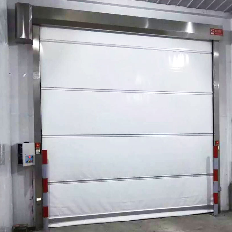 Hongfa automatic PVC fast door supplier for warehousing-1
