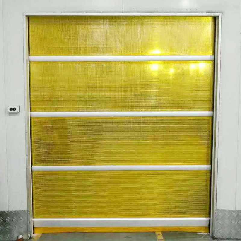 Hongfa efficient automatic roll up door factory price for supermarket-1