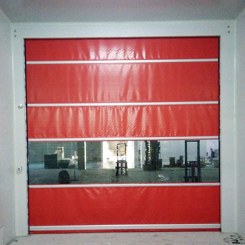Remote control PVC Curtain fast speed door