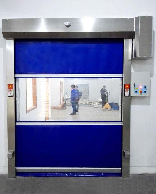 performance roll up door interior for factory Hongfa-4