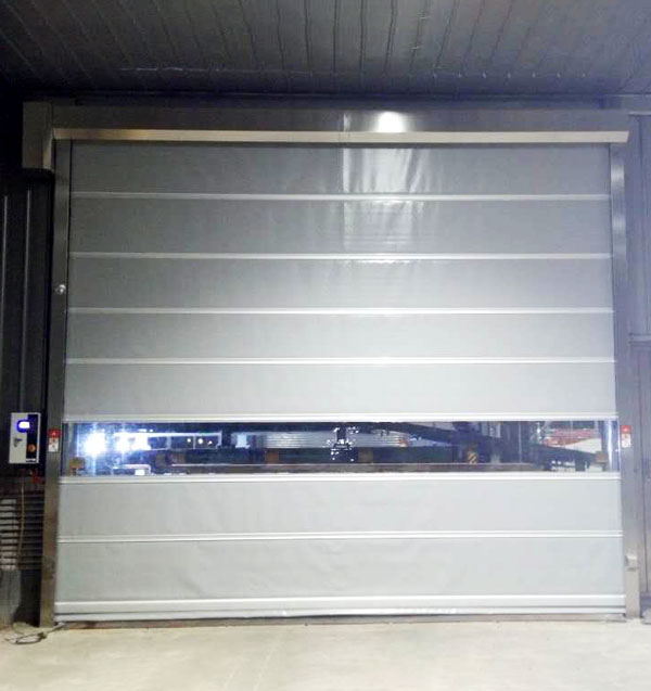 Hongfa rapid roll up door newly for supermarket-4