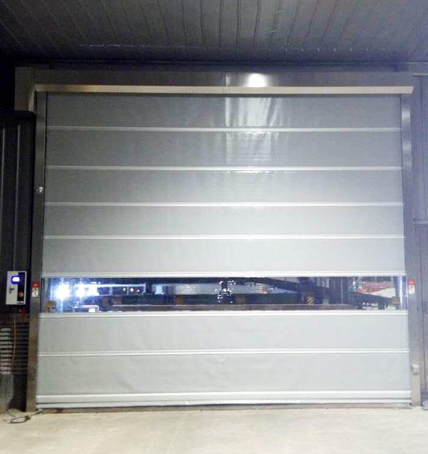 Hongfa pvc roll up high speed door factory price for supermarket