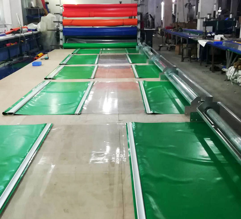 latest roll up dock door automatic factory for food chemistry textile electronics supemarket refrigeration logistics-2