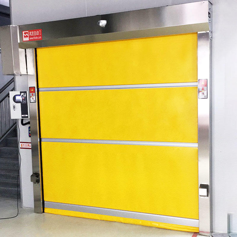 clear rapid roll up door quick for factory Hongfa