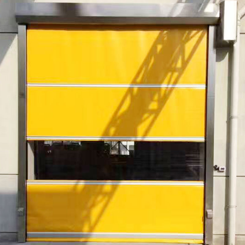 Hongfa automatic fabric roll up doors in different color for warehousing-4