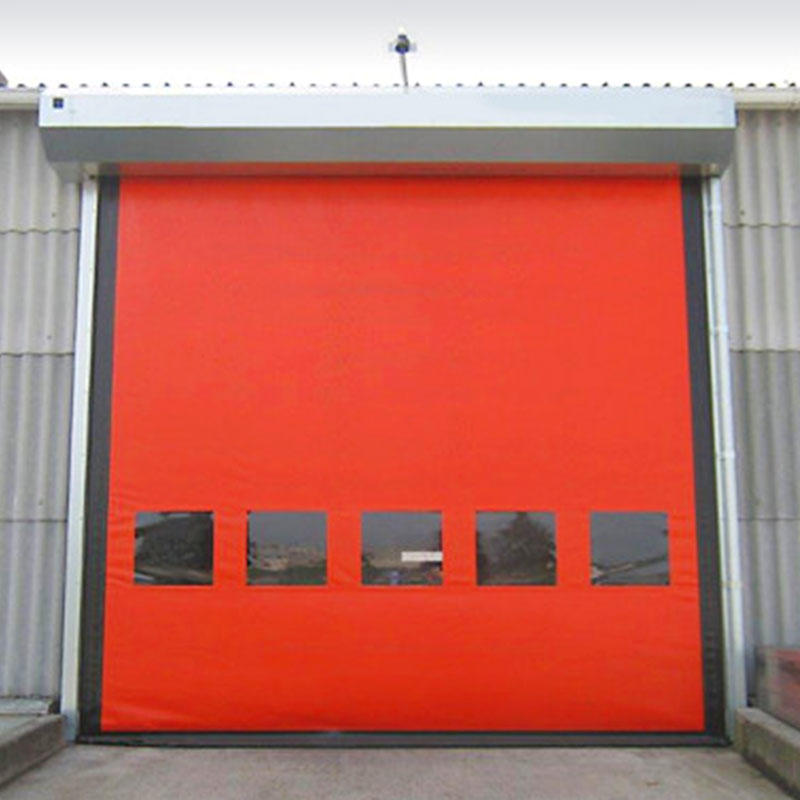 Auto-recovery high speed door industrial doors custom
