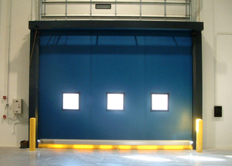 Hongfa hot-sale auto-recovery door door for warehousing