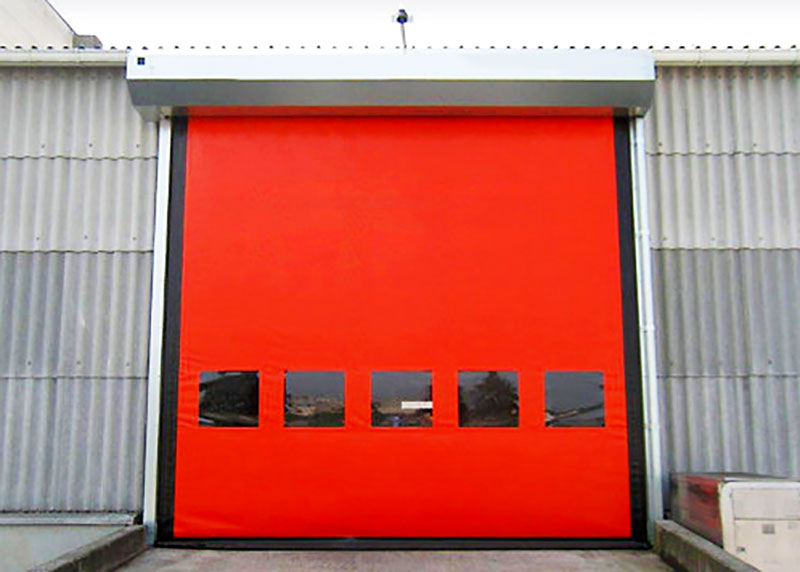 custom custom roll up door autorecovery supplier for cold storage room-2