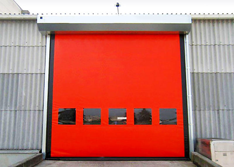 selfrepairing custom roll up doors autorecovery for food chemistry Hongfa