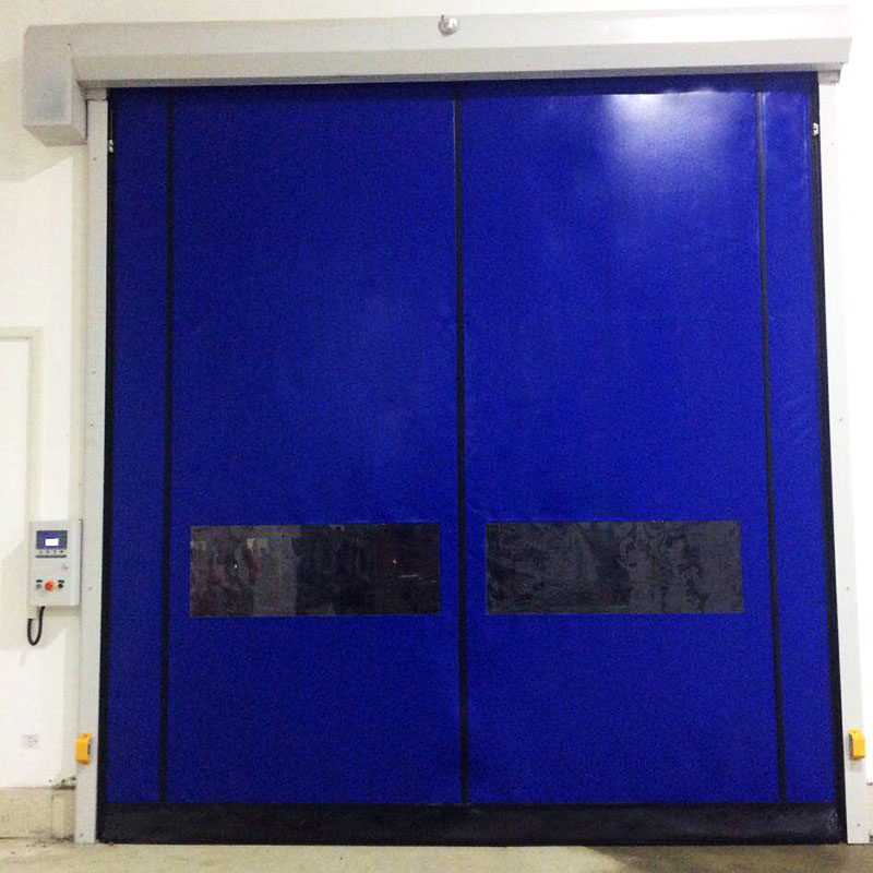 Self-repairing Zipper type high speed door-1