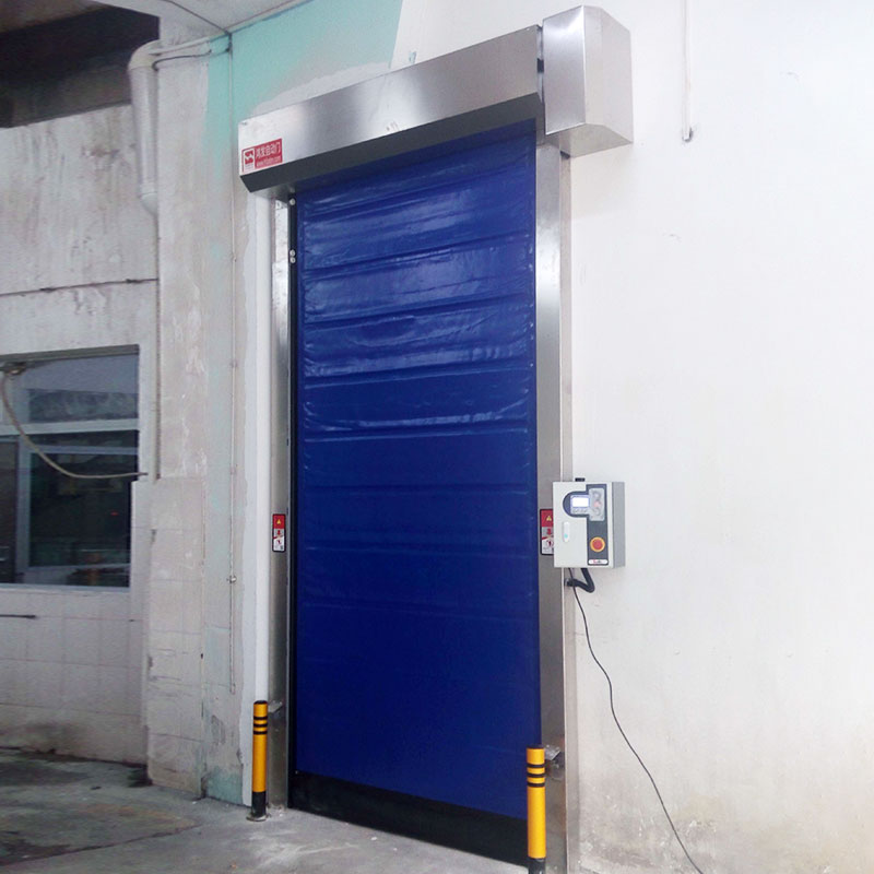 Hongfa door fast door overseas market for cold storage room-1