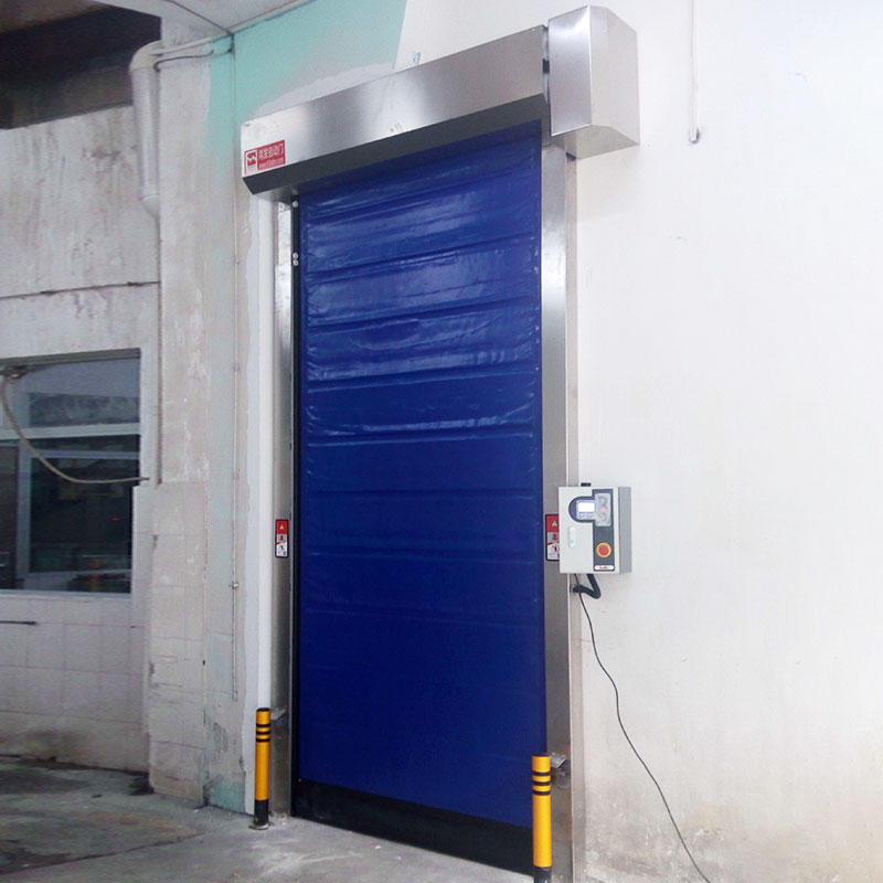 Hongfa fast cold storage doors suppliers overseas market for food chemistry