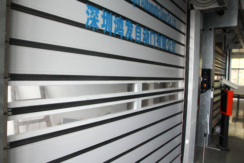 Hongfa high-quality 3x3 spiral door door for parking lot
