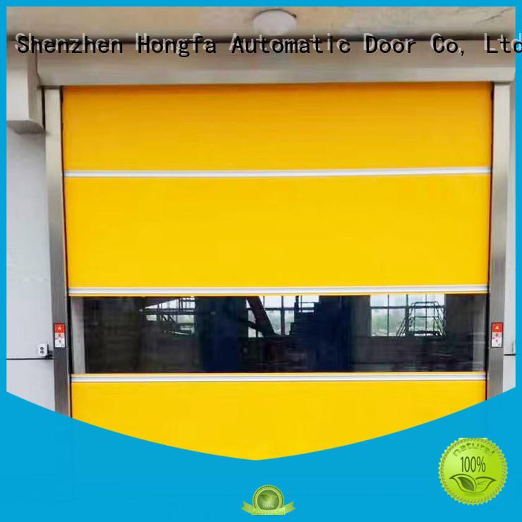 Hongfa rolling roll up door factory price for factory