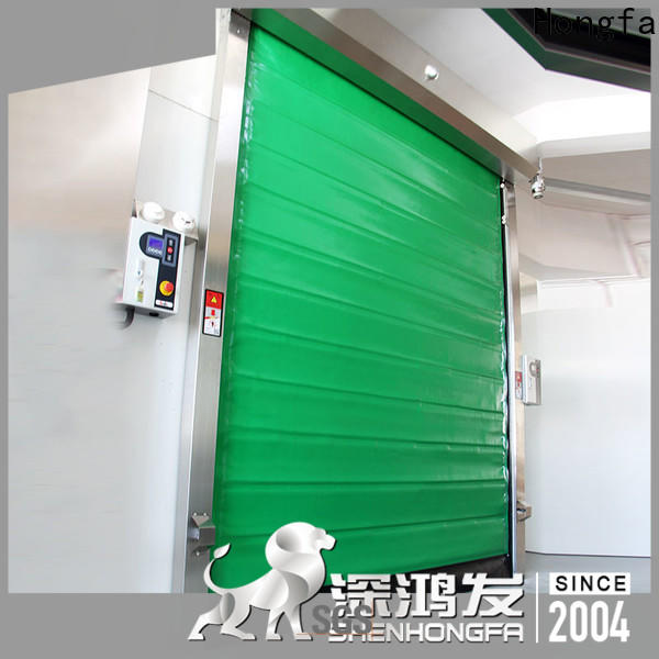 Hongfa safe fast door China for cold storage room