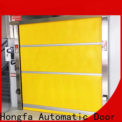 Hongfa curtain albany door systems in different color for factory