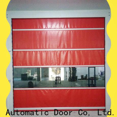 Hongfa fabric cold storage doors marketing for food chemistry textile electronics supemarket refrigeration logistics