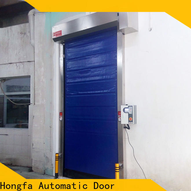 Hongfa door fast door overseas market for cold storage room