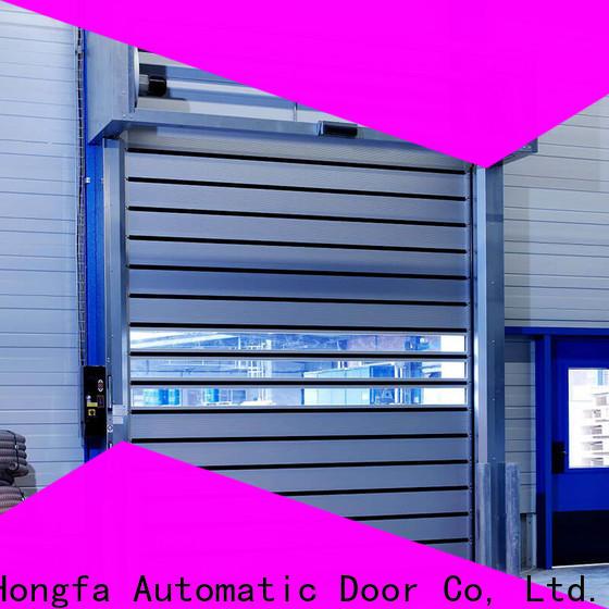 Hongfa spiral security industrial fast door buy now for industrial warehouse