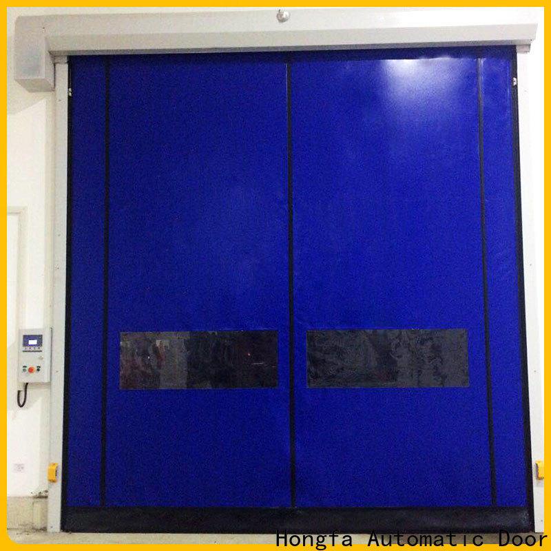 Hongfa competetive price industrial garage doors supplier for food chemistry