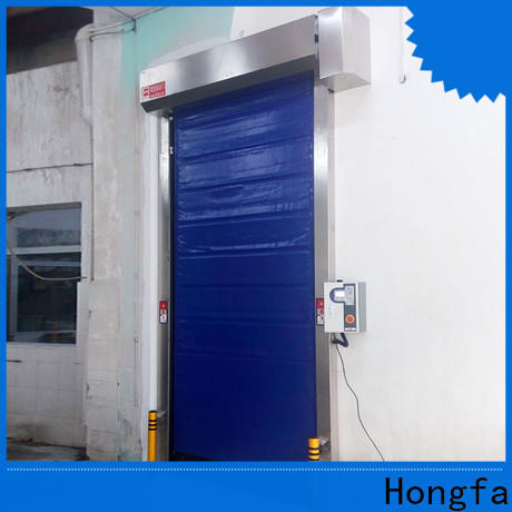 Hongfa high-quality fast shutter door popular for cold storage room