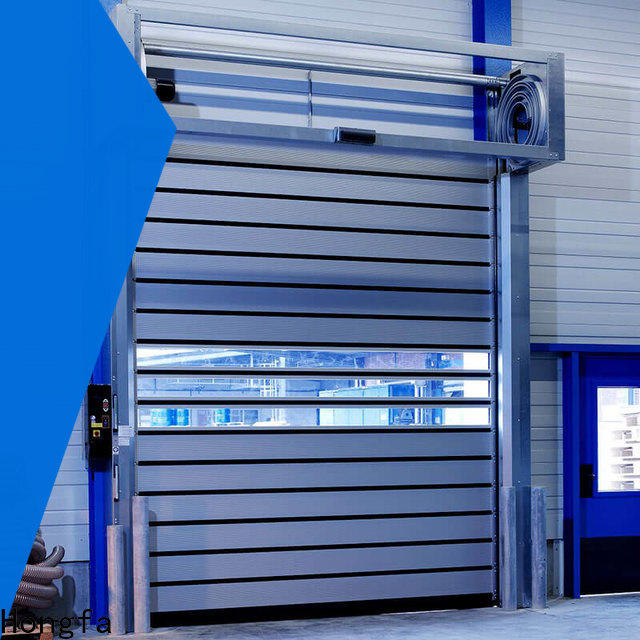 Hongfa speed industrial doors for wholesale for factory